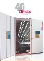 Climats temperature chamber product catalog